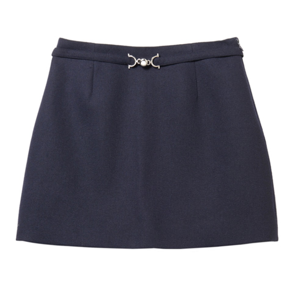 MONDAY SKIRT - SIMPLE MOMENT (NAVY)